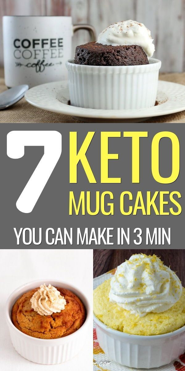 Keto Banana Bread Mug Cake  7 Easy Yet Wonderfully Delicious Keto Mug Cakes