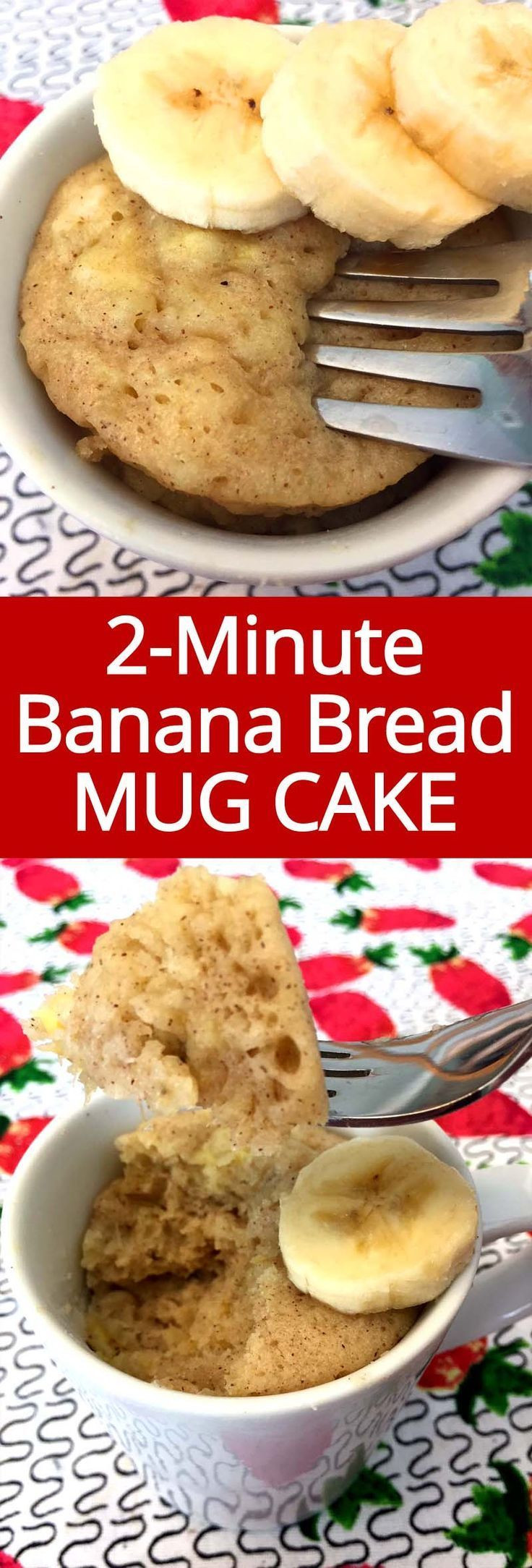 Keto Banana Bread Mug Cake  Gluten Free Banana Bread Mug Cake