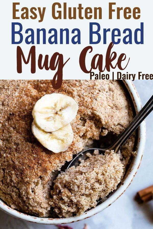 Keto Banana Bread Mug Cake  Matcha tea and nettle cake Recipe in 2020
