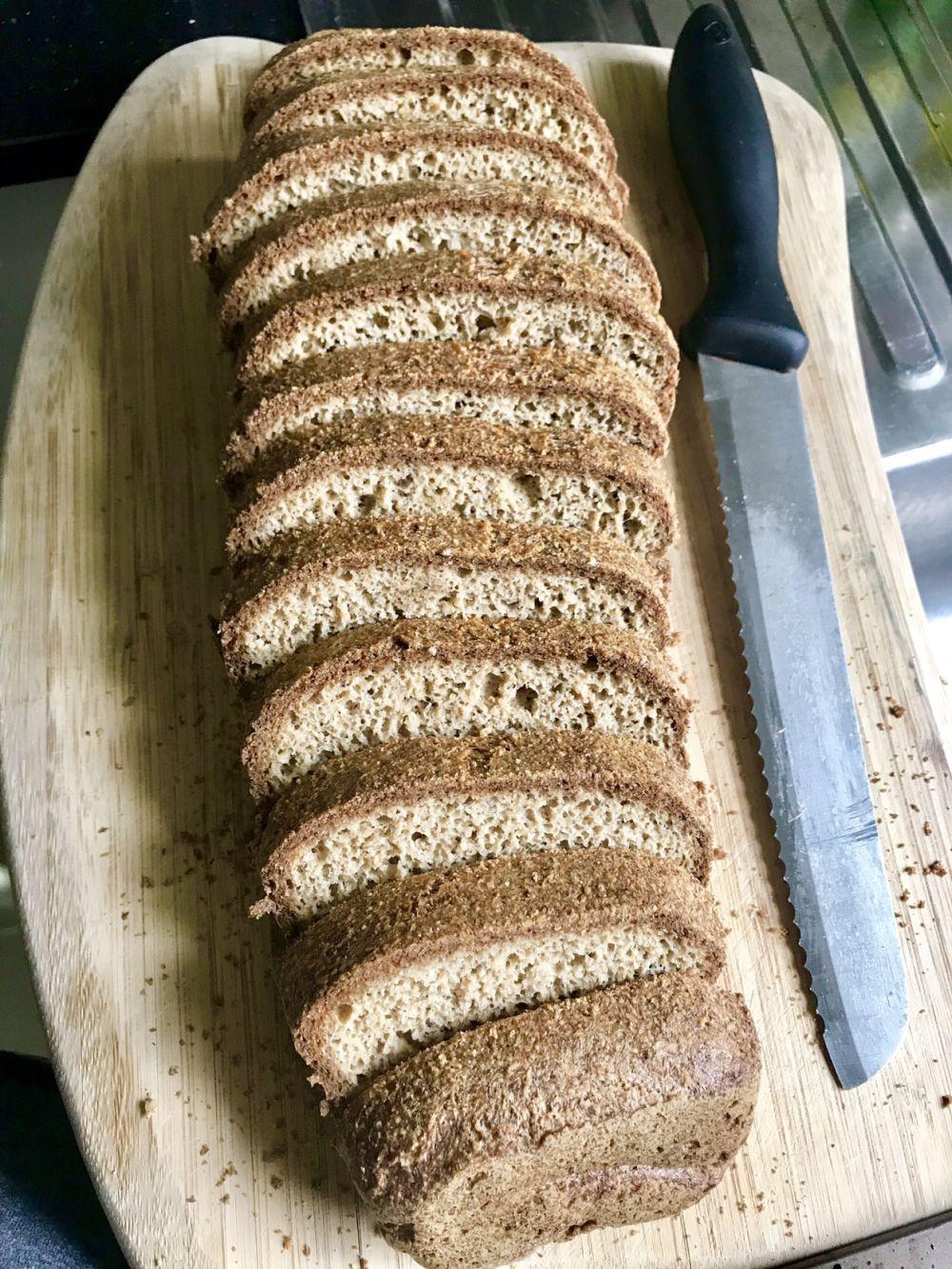 Keto Bread Almond Flour Psyllium  Easy Keto Bread Recipe Almond flour and Psyllium Husk