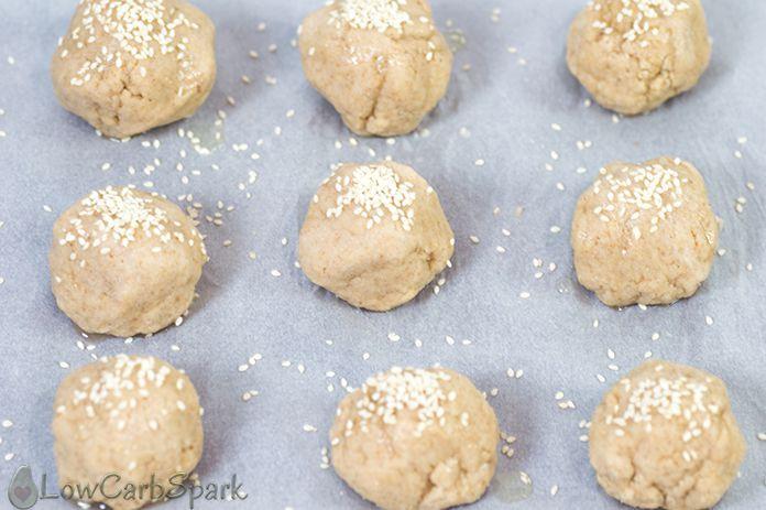 Keto Bread Almond Flour Psyllium  The Best Keto Buns with Almond Flour and Psyllium 2g net