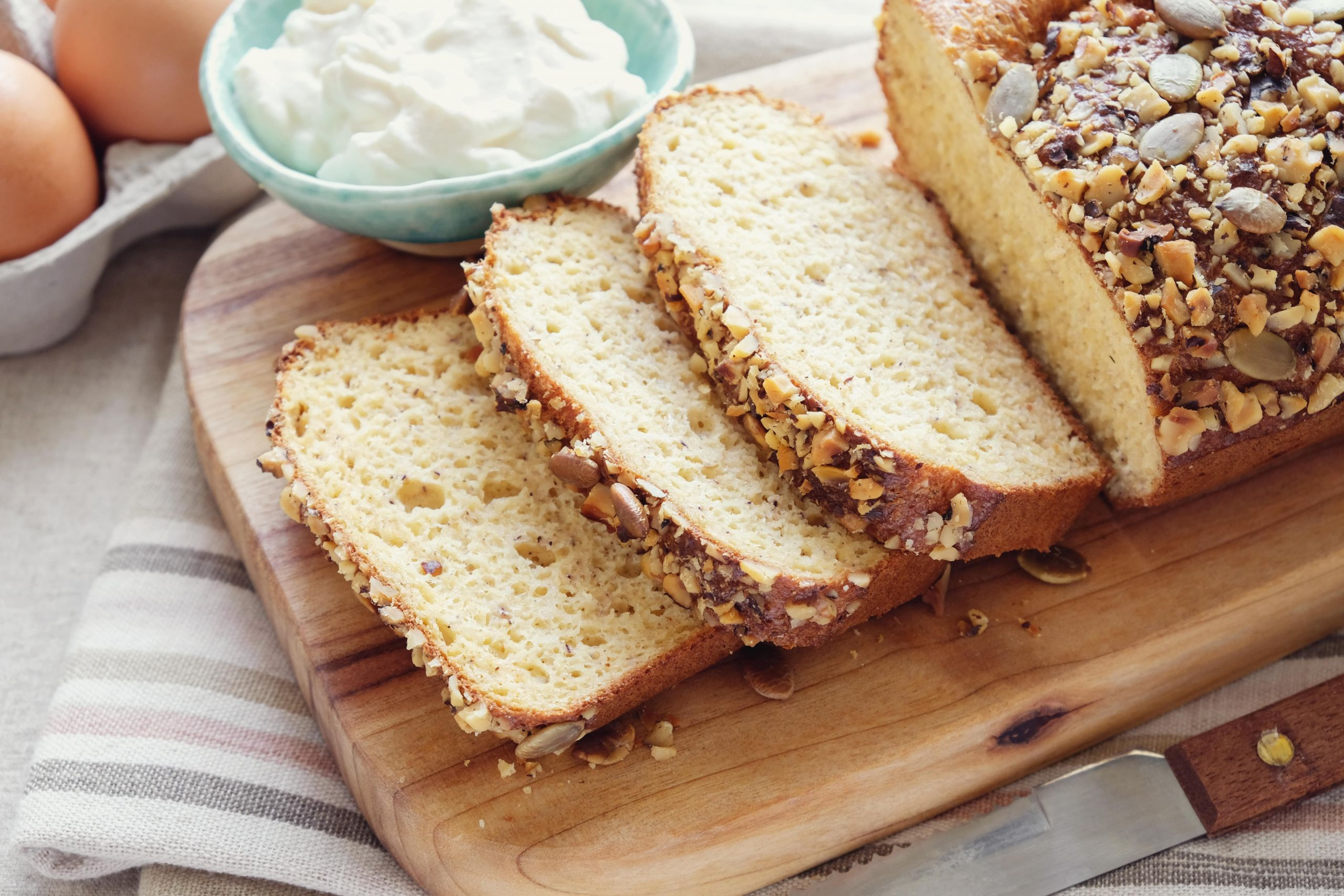 Keto Bread Crumbs Almond Flour  Coconut Almond Flour Bread Ketogenic Diet Resource