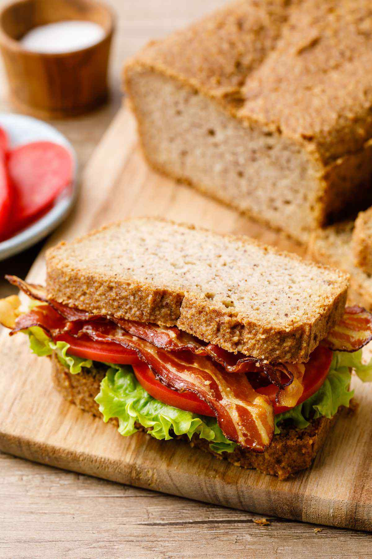 Keto Bread Crumbs Almond Flour  Life changing Almond Flour Bread Recipe Keto Friendly
