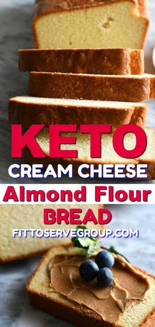 Keto Bread Crumbs Almond Flour  Keto Cream Cheese Almond Flour Bread · Fittoserve Group