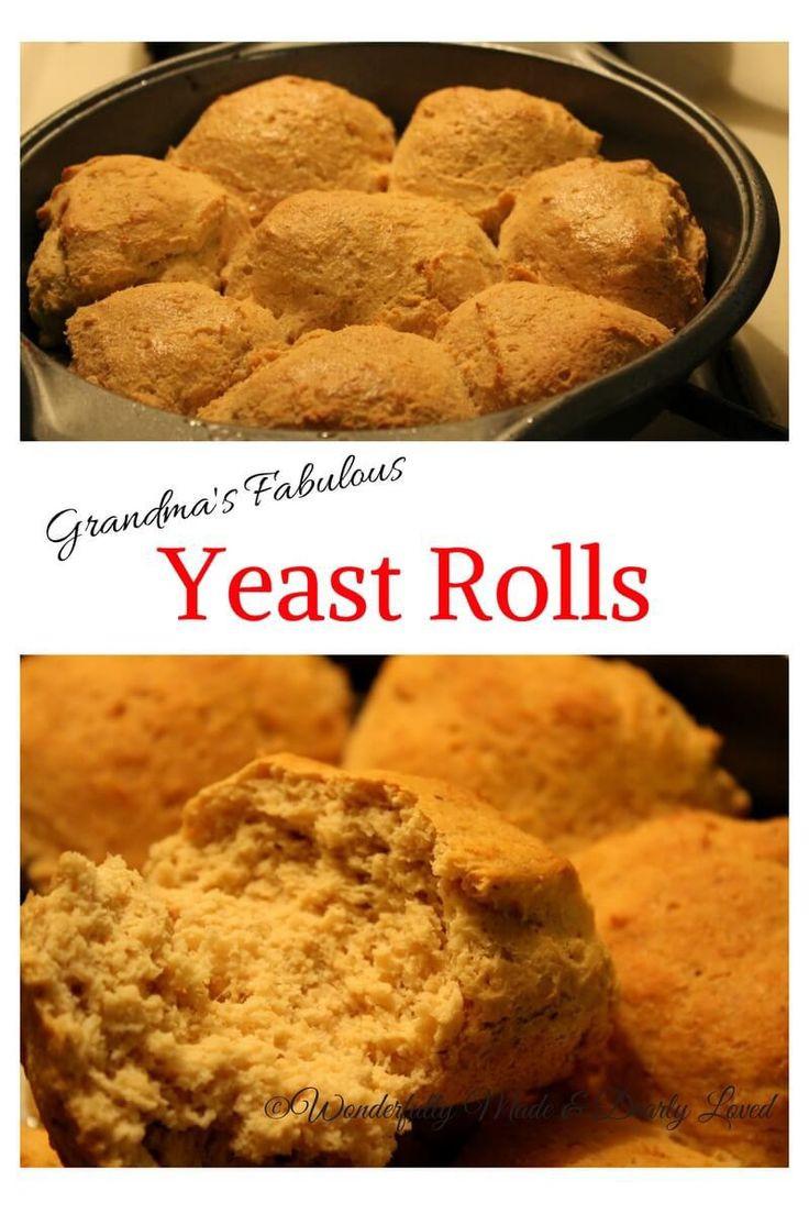 Keto Bread Rolls Coconut Flour  Grandma s Fabulous Yeast Rolls Recipe