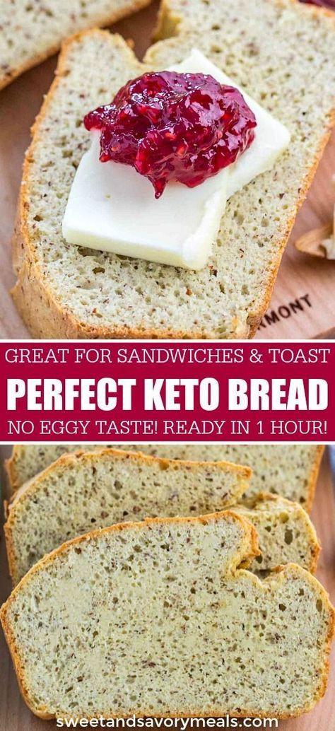 Keto Bread Rolls Coconut Flour  Keto Bread No Eggy Taste Recipe