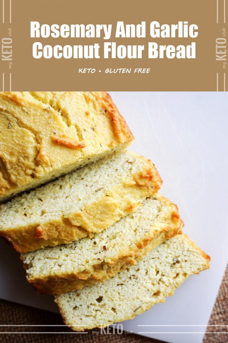 Keto Bread Rolls Coconut Flour  Rosemary And Garlic Coconut Flour Keto Bread – My Keto Club