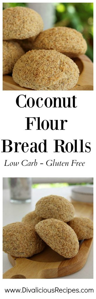 Keto Bread Rolls Coconut Flour  Coconut Flour Bread Rolls Keto & Low Carb Ve arian Recipes