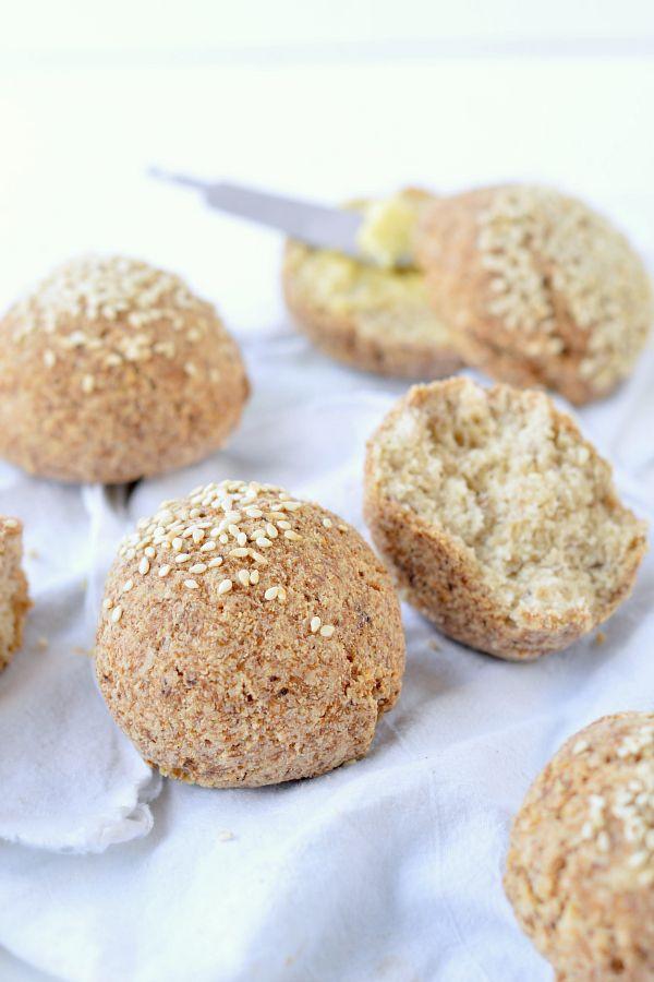 Keto Bread Rolls Coconut Flour  Keto bread rolls NO EGGS Vegan Dairy free Low