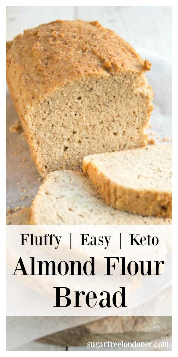 Keto Bread Sticks Almond Flour  Almond Flour Bread Keto Bread Recipe – Sugar Free Londoner