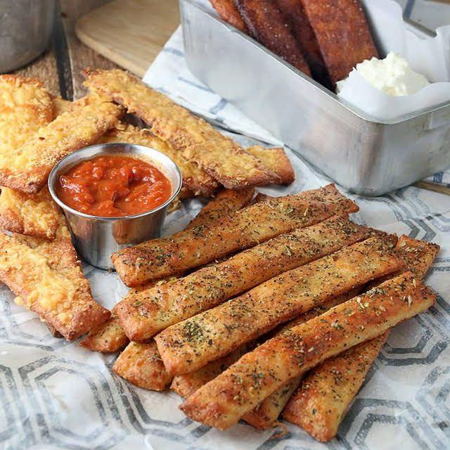 Keto Bread Sticks Almond Flour  Keto Breadsticks with Mozzarella Cheese Almond Flour