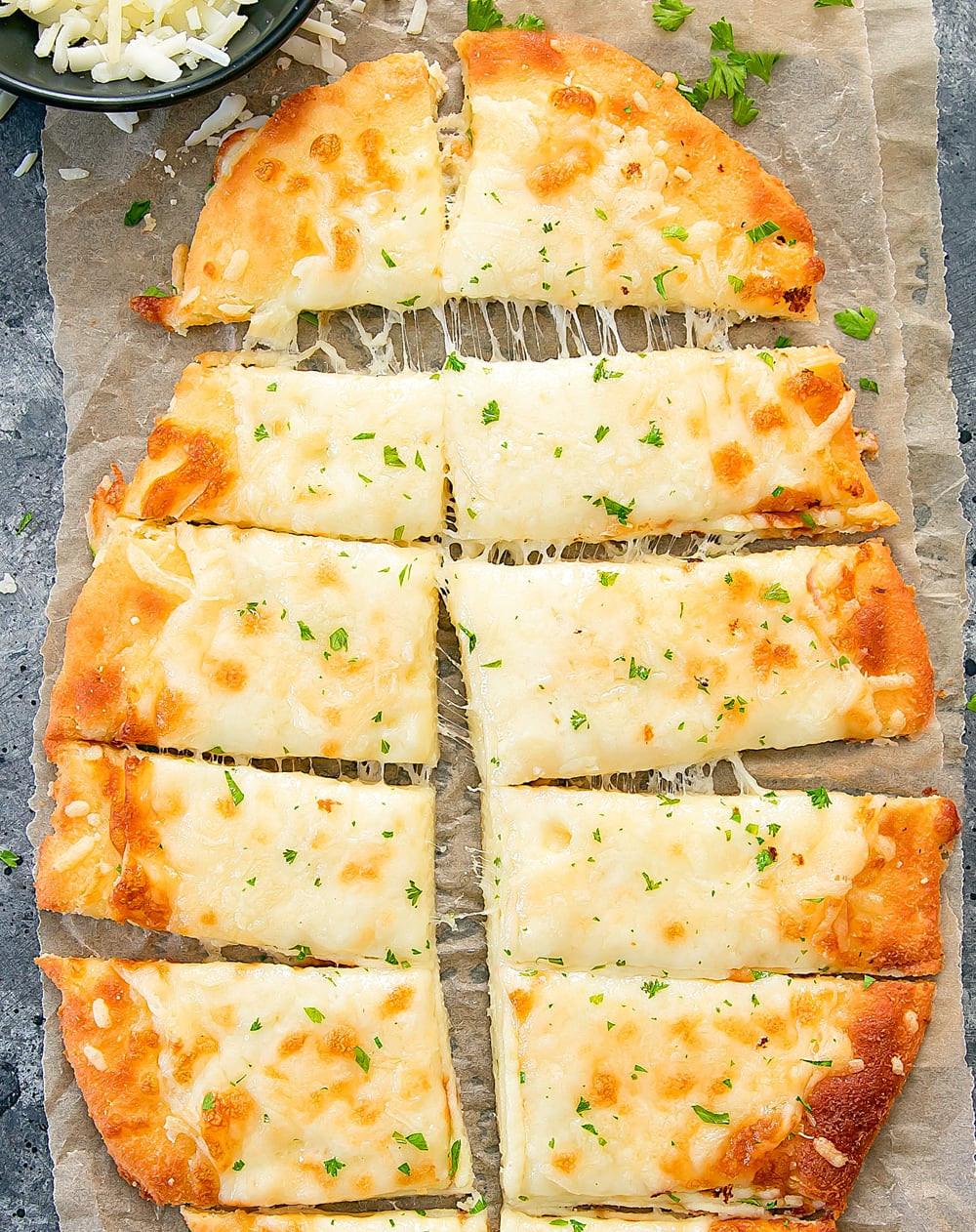 Keto Bread Sticks Almond Flour  Keto Breadsticks Kirbie s Cravings