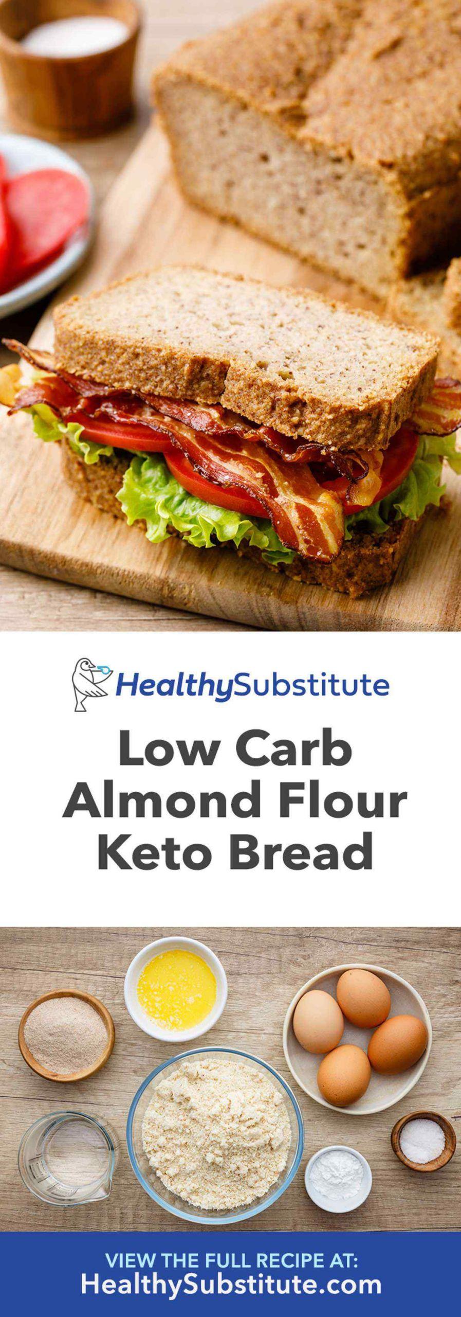 Keto Bread Sticks Almond Flour  Life changing Almond Flour Bread Recipe Keto Friendly