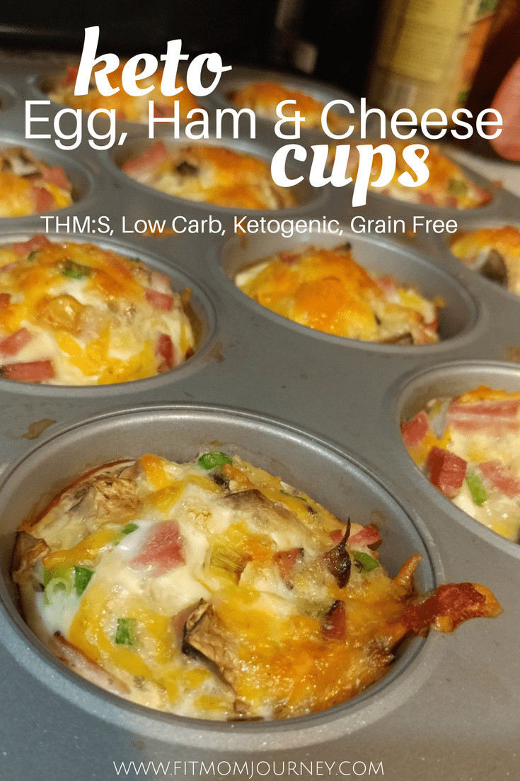 Keto Breakfast Egg Cups  Keto Ham Egg Cups Fit Mom Journey