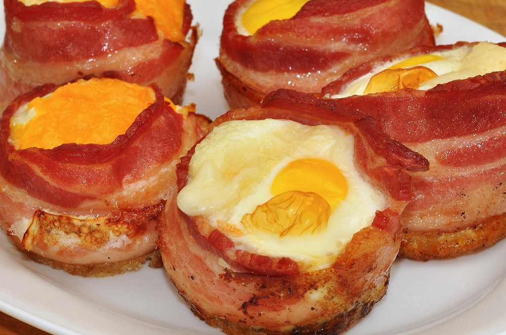 Keto Breakfast Egg Cups  Keto Bacon and Egg Cups The Keto Cookbook