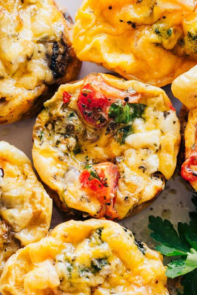 Keto Breakfast Recipes Easy On The Go  Easy Breakfast Egg Muffins