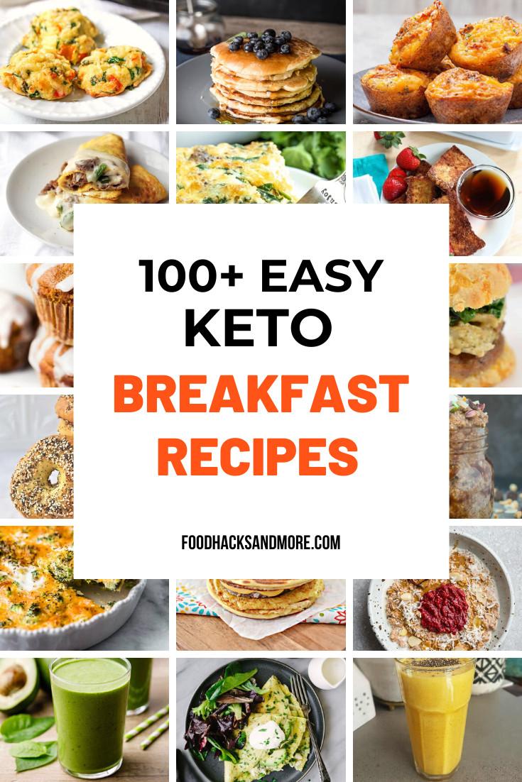 Keto Breakfast Recipes Easy On The Go  100 Easy Keto Breakfast Ideas The Go FoodHacksandMore