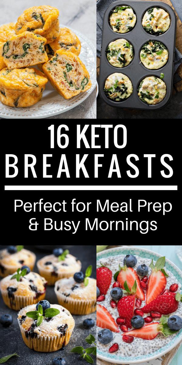Keto Breakfast Recipes Easy On The Go  16 Easy Keto Breakfast Recipes Perfect for Meal Prep