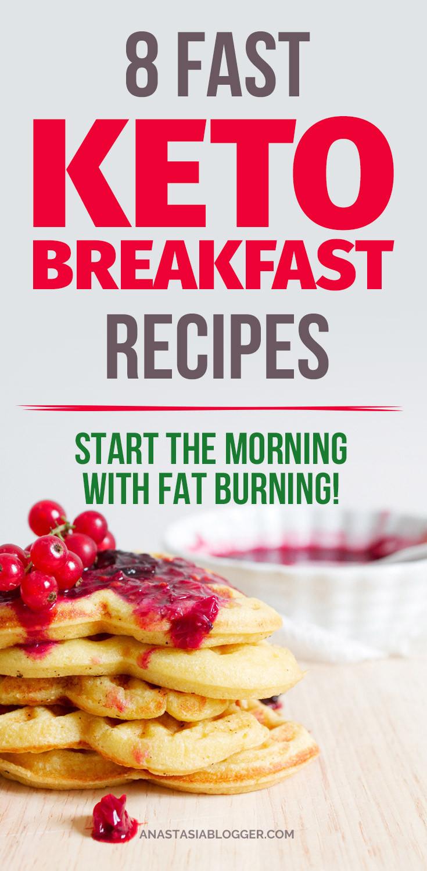 Keto Breakfast Recipes Easy On The Go  8 Easy Keto Breakfast Recipes the Go Fat Burning from