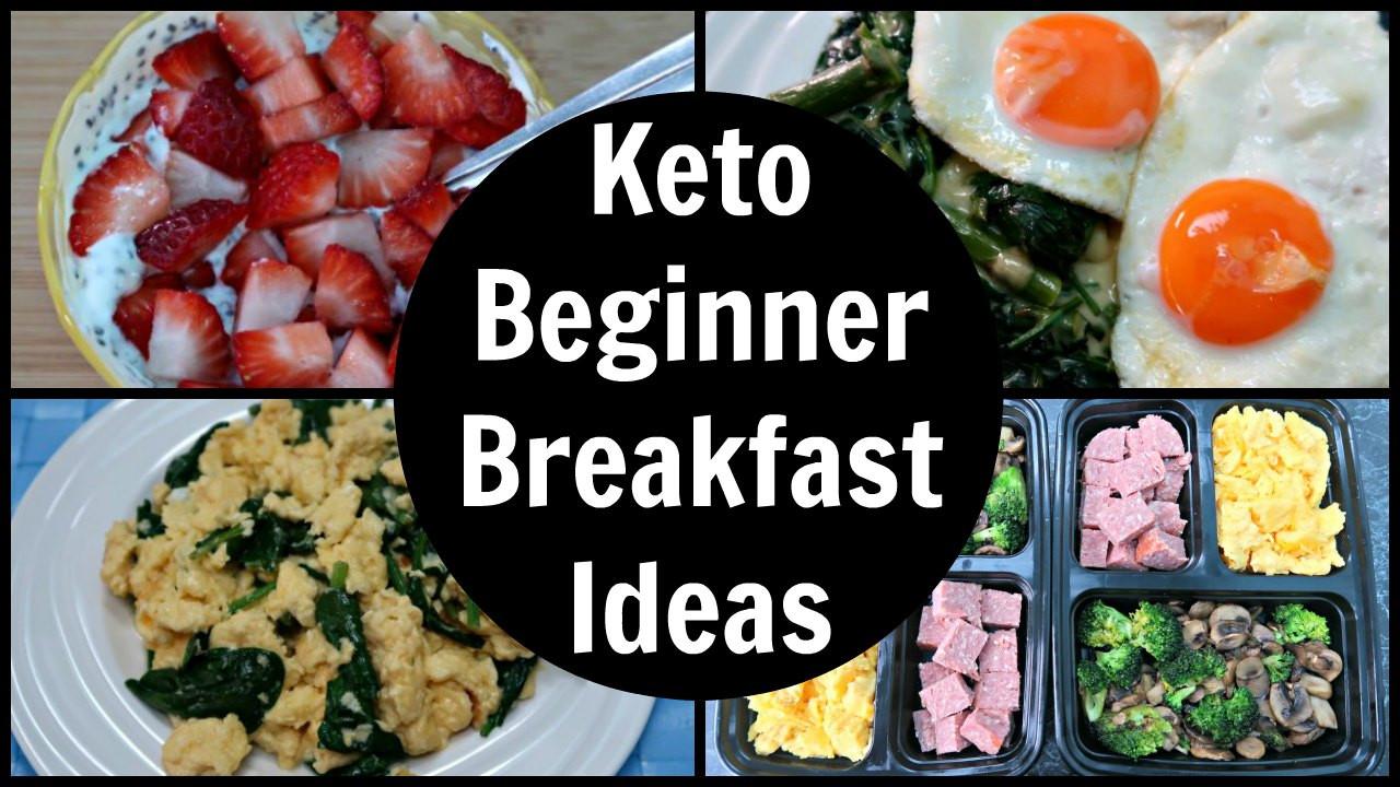 Keto Breakfast Recipes For Beginners  Keto Diet Beginners Breakfast Ideas Recipes For Low Carb
