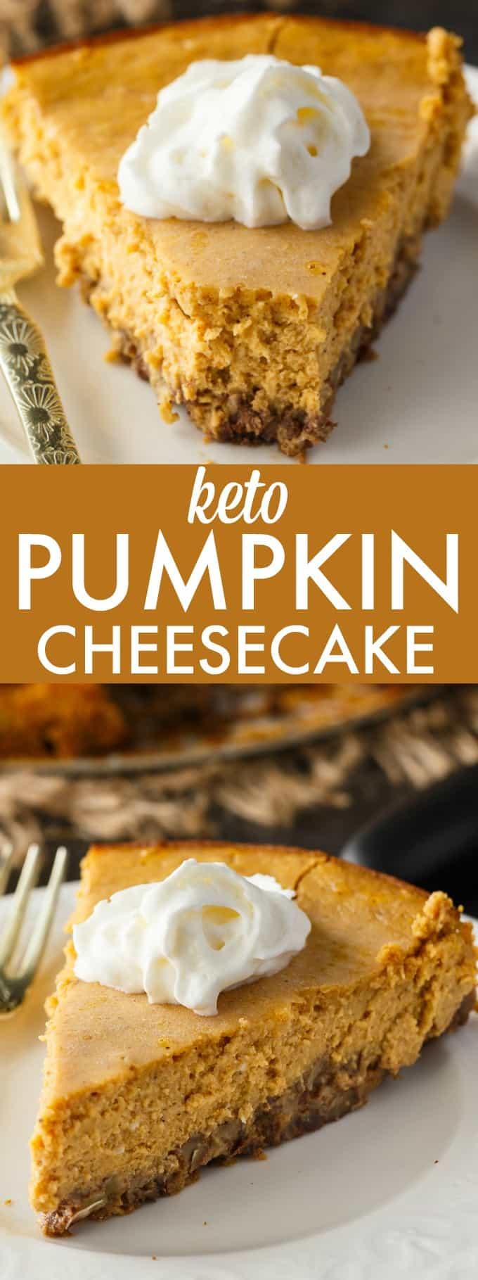 Keto Dessert Cheesecake  Keto Pumpkin Cheesecake Simply Stacie