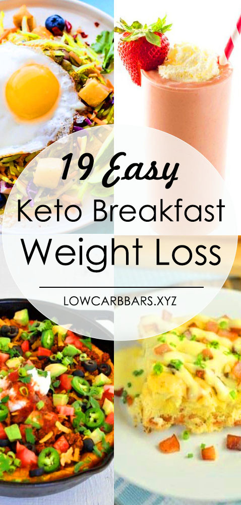 Keto Diet For Beginners Losing Weight Breakfast  19 Easy Keto Breakfast to Help Weight Loss Low Carb Bars