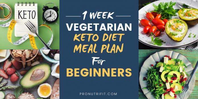 Keto Diet For Beginners Meal Plan Vegetarian  1 Week Ve arian Keto Diet Meal Plan for Beginners