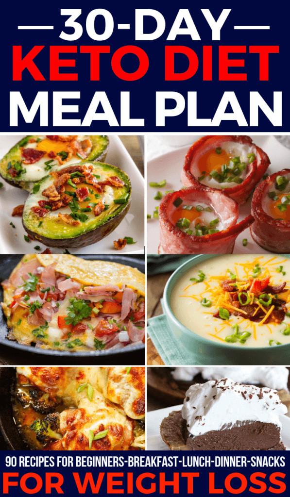 Keto Diet For Beginners Meal Plan Vegetarian  Total Keto Diet For Beginners How To Meal Plan Your