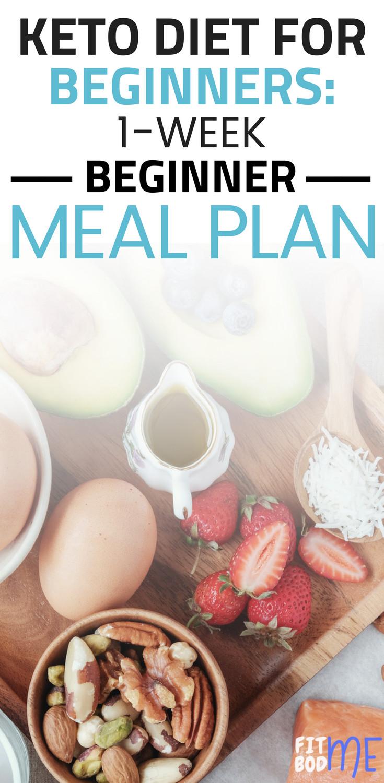 Keto Diet For Beginners Week 1 Easy  Keto Diet For Beginners 1 Week Beginner Meal Plan