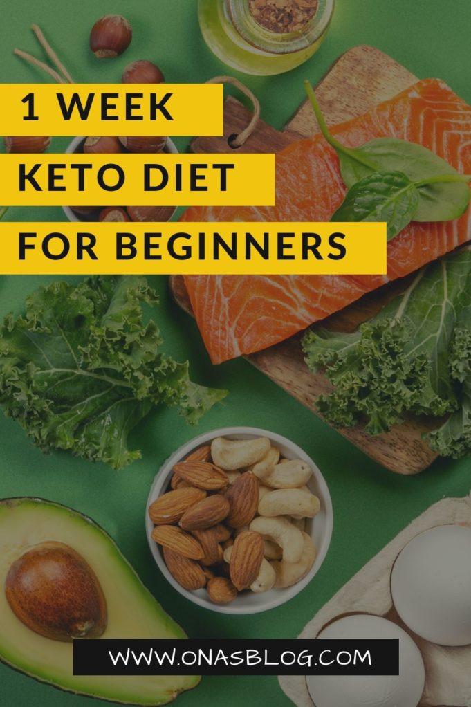 Keto Diet For Beginners Week 1 Easy  1 Week Keto Diet Plan for Beginners a s Blog