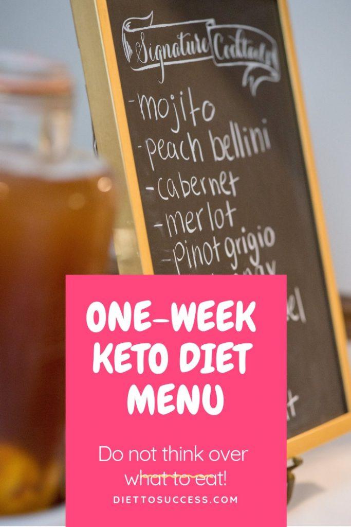 Keto Diet For Beginners Week 1 Easy  e Week Keto Diet Menu for Beginners – DietToSuccess