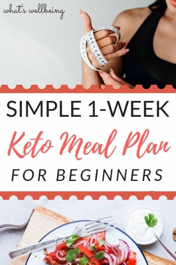 Keto Diet For Beginners Week 1  Simple 1 Week Keto Meal Plan for Beginners What s
