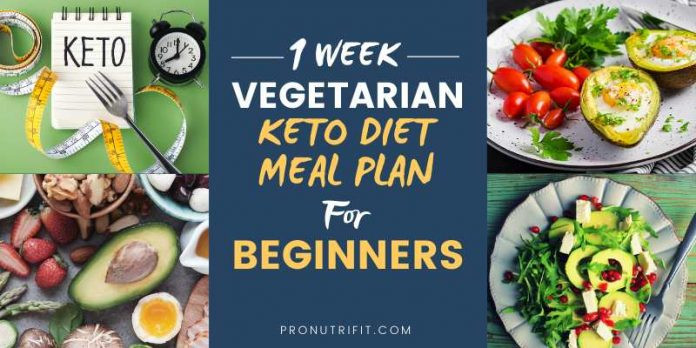 Keto Diet For Beginners Week 1  1 Week Ve arian Keto Diet Meal Plan for Beginners