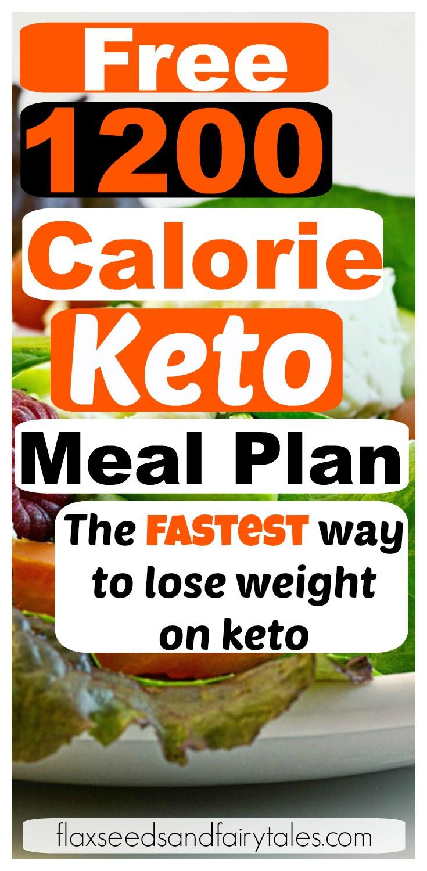 Keto Diet For Beginners Week 1 Meal Plan Printable  1200 Calorie Keto Meal Plan FREE 1 Week Plan for Fast