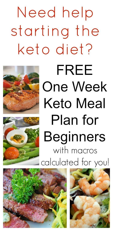 Keto Diet For Beginners Week 1 Meal Plan Printable  FREE e Week Keto Meal Plan for Beginners