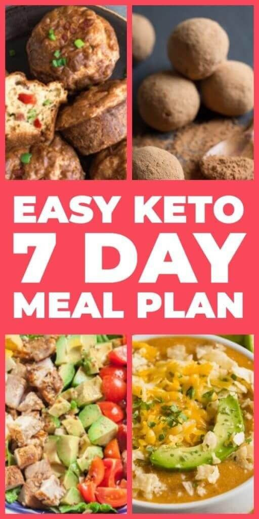 Keto Diet For Beginners Week 1 Meal Plan Recipes  The 7 Day Keto Meal Plan & Menu For Beginners Easy