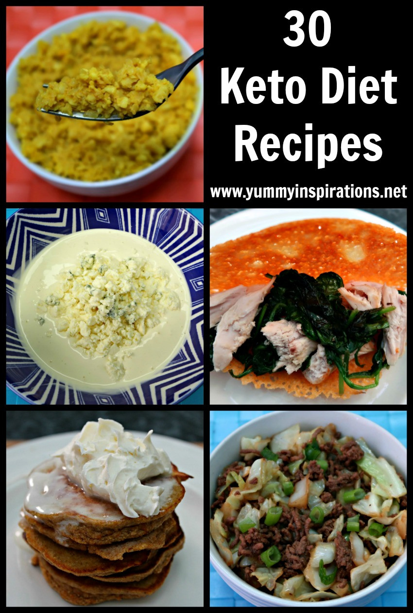 Keto Diet Recipes Breakfast  30 Keto Diet Recipes Easy Low Carb & Ketogenic Diet Ideas