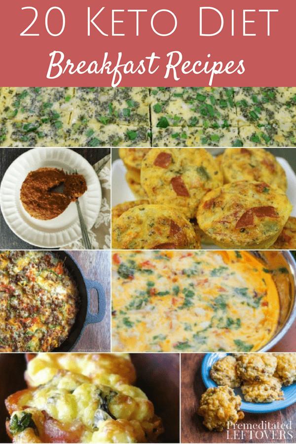 Keto Diet Recipes Breakfast  20 Keto Breakfast Recipes Premeditated Leftovers™