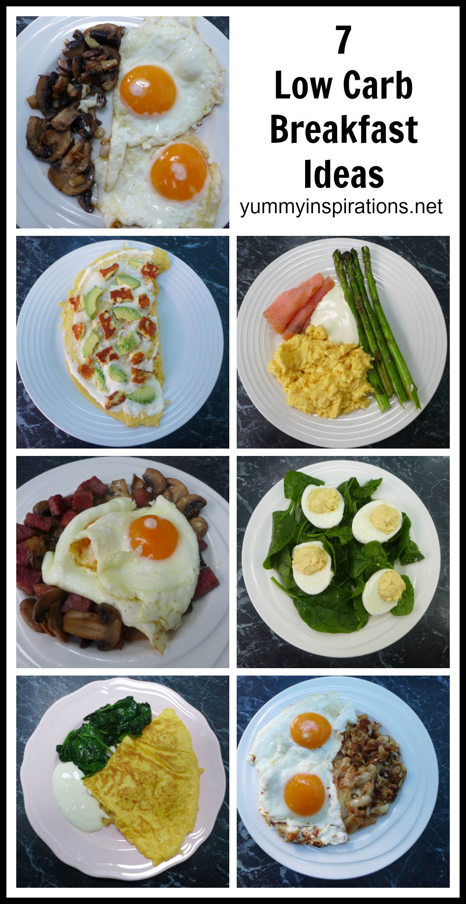 Keto Diet Recipes Breakfast  7 Low Carb Breakfast Ideas A week of Keto Breakfast Recipes