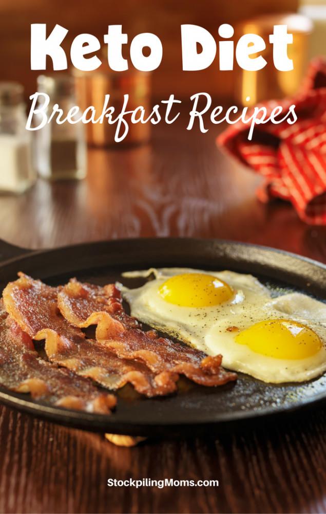 Keto Diet Recipes Breakfast  12 Keto Diet Breakfast Recipes