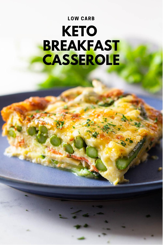 Keto Diet Recipes Breakfast  Easy Keto Breakfast Casserole Green Healthy Cooking