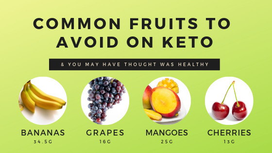 Keto Diet Snacks Fruit  FOODS TO AVOID ON A KETOGENIC DIET