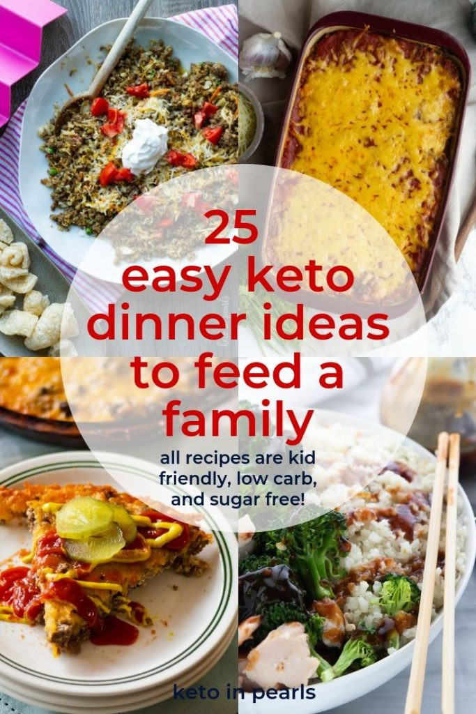 Keto Dinner Ideas Easy  25 Easy Keto Dinner Ideas for Back to School