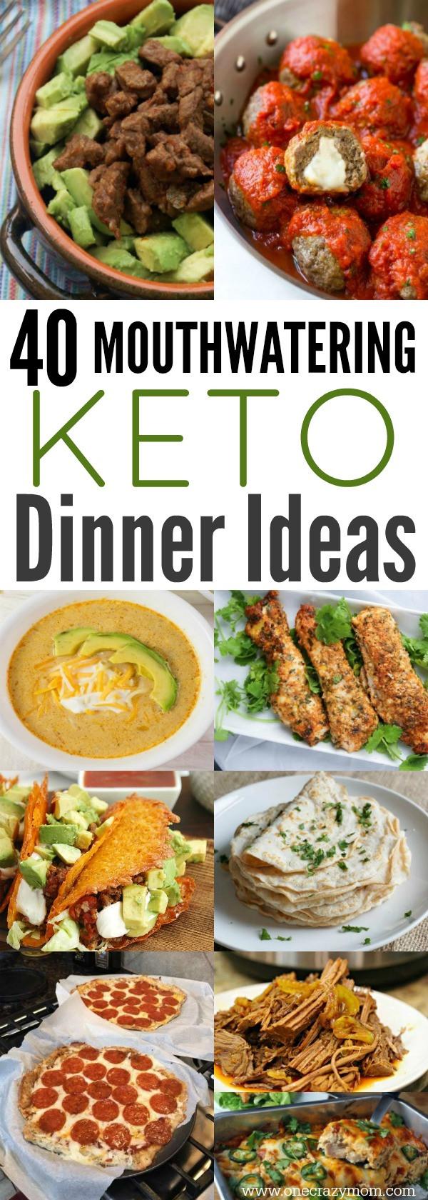 Keto Dinner Ideas Easy  Easy Keto Dinner Ideas 40 Easy Keto Dinner Recipes