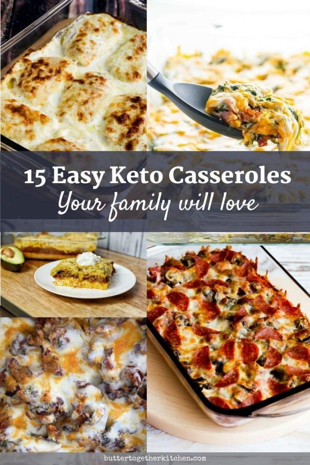 Keto Dinner Ideas Easy  15 Easy Keto Dinner Casserole Recipes Butter To he Kitchen