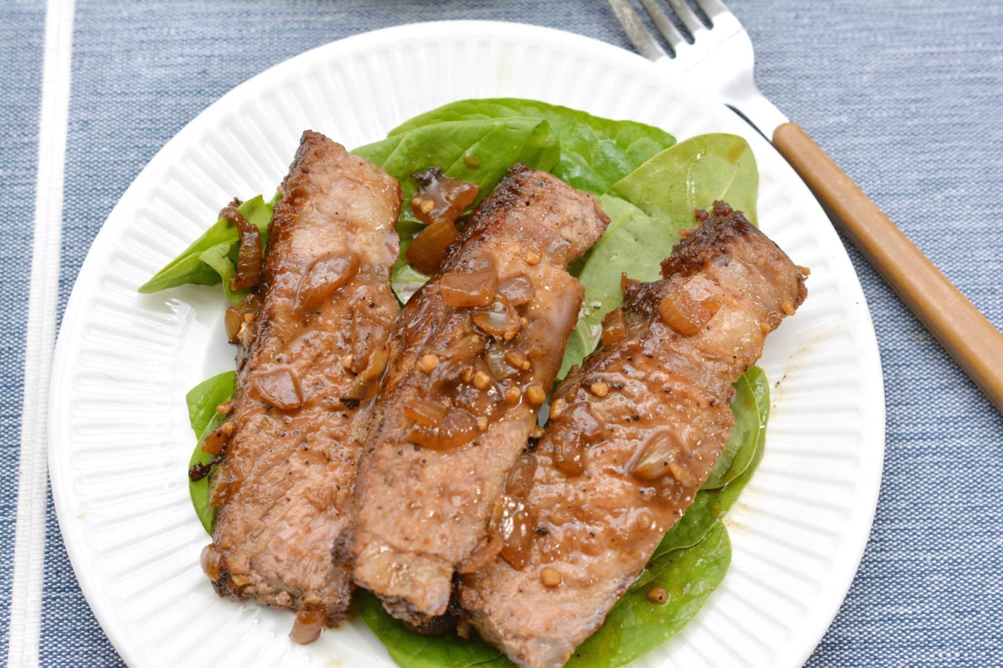 Keto Dinner Recipes Beef Steak  Keto Steak Recipe Seared Ribeye with Red Wine Pan Gravy