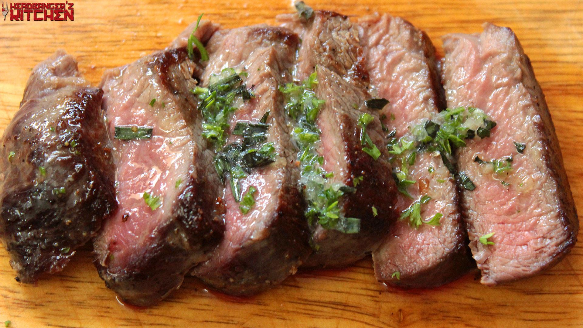 Keto Dinner Recipes Beef Steak  Keto Beef Steak with Herbed Butter Headbanger s Kitchen