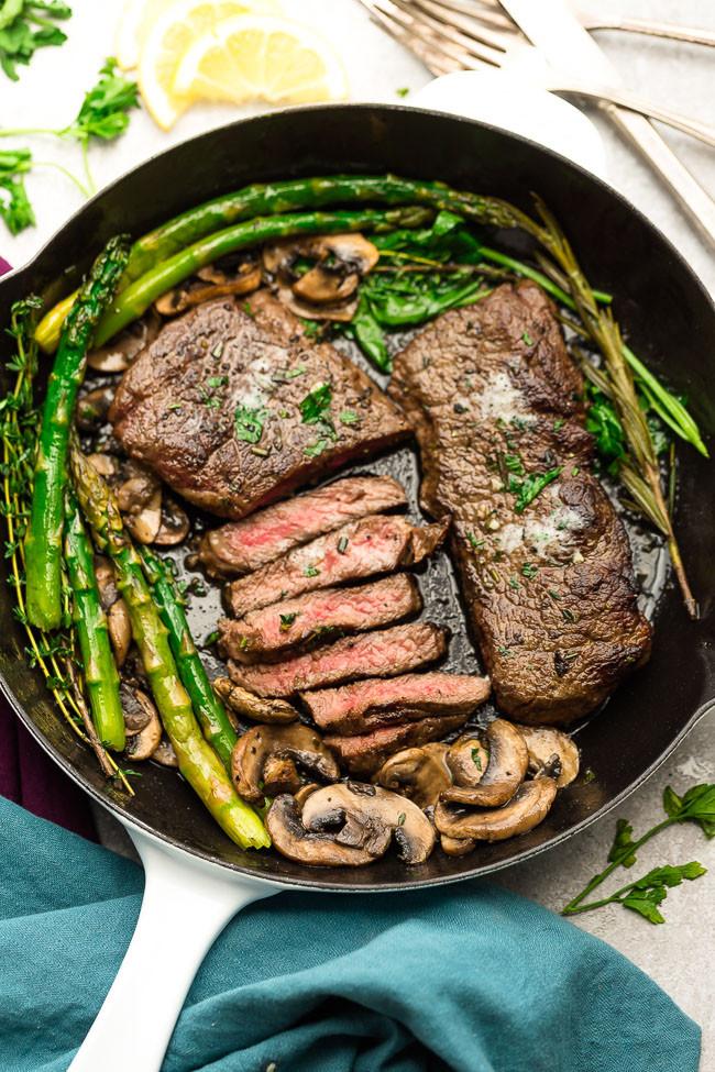Keto Dinner Recipes Beef Steak  Garlic Butter Steak Life Made Keto