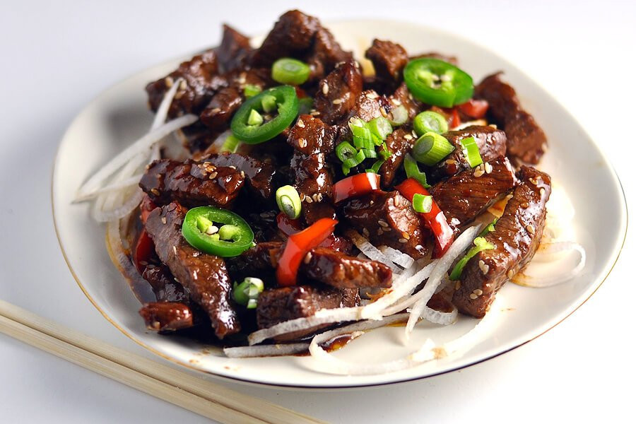 Keto Dinner Recipes Beef Steak  Keto Crispy Sesame Beef