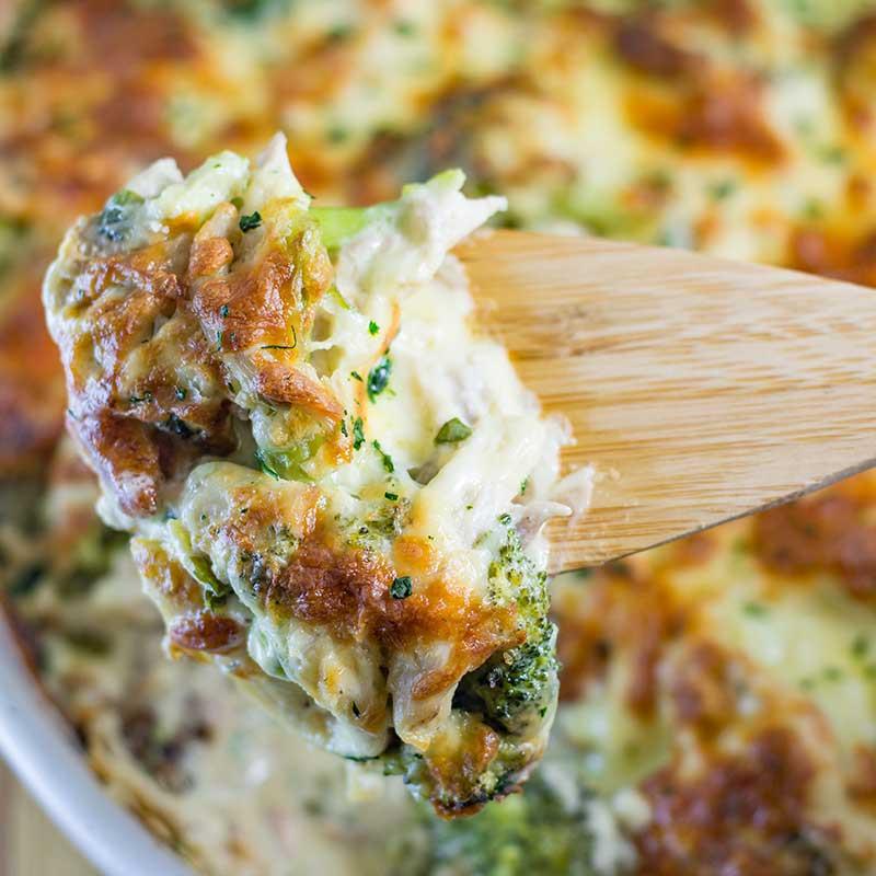 Keto Dinner Recipes Chicken Casserole  Keto Chicken Broccoli Casserole with Cheese Recipe